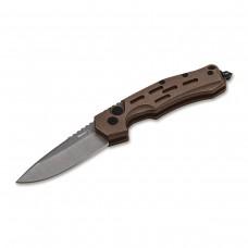 Нож Boker модель 01BO794 Thunder Storm Auto Coyote