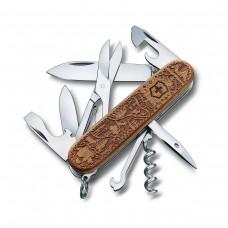 Нож Victorinox 1.3701.63L21 Climber Wood Swiss Spirit Special Edition 2021