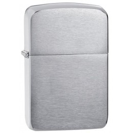 Зажигалка ZIPPO Brushed Chrome 1941 Replica