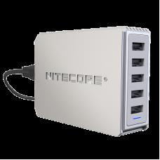 Пятиканальное USB зарядное устройство Nitecore UA55