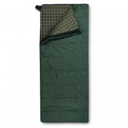 Спальный мешок Trimm Comfort Tramp, 185 R (зеленый, камуфляж, синий)