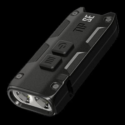 Мощный наключный фонарь Nitecore TIP SE, черный