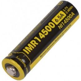 Аккумулятор NITECORE IMR NL14500A 3.7v 650mA 6.5A 13218