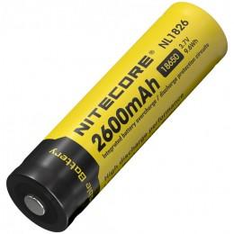 Аккумулятор NITECORE NL1826 18650 LI-ION 3.7v 2600mA 9324