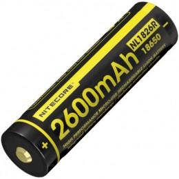 Аккумулятор NITECORE NL1826R 18650 LI-ION 3.7v 2600mA 16809