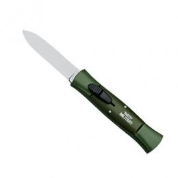 Автоматический складной нож Nato Military, сталь 420НС, алюминий