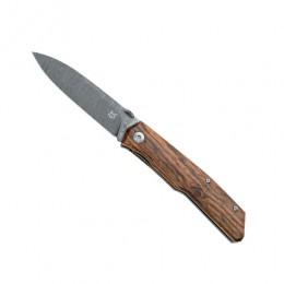 Складной нож Terzuola,дамасская сталь , дерево