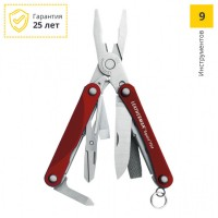 Мультитул LEATHERMAN SQUIRT PS4 RED 831189