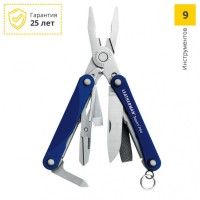 Мультитул LEATHERMAN SQUIRT PS4 BLUE 831192