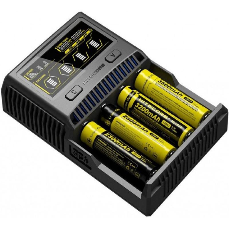 e4056784a841 Зарядное устройство NITECORE SC4 16652 купить в Минске с доставкой ...