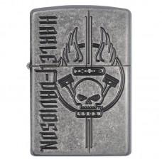 Зажигалка Zippo Harley-Davidson - Antique Silver
