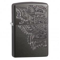 Зажигалка ZIPPO Iced Paisley Design, Gray Dusk