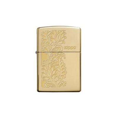"Зажигалка Zippo ""Paisley Design"" High Polish Brass"