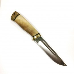 Нож АиР Бекас (кап и латунь), ELMAX