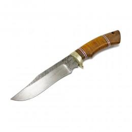Нож Секач, дамаск