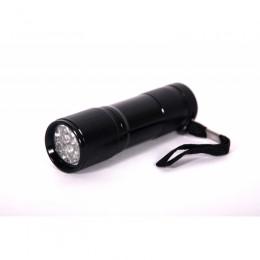 Ультрафиолетовый фонарь (9 светодиодов, 3xААА, 395нм)
