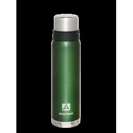 Термос Арктика с узким горлом 900мл, американский дизайн, зеленый