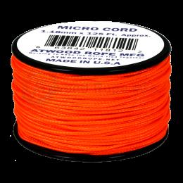 Микрокорд (микро паракорд) 1.18мм, Neon Orange