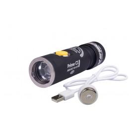 Фонарь Armytek Prime C1 Pro XP-L Magnet USB (белый свет) + 18350 Li-Ion