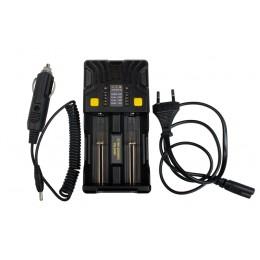 Зарядное устройство Armytek Uni C2 с автомобильным адаптером