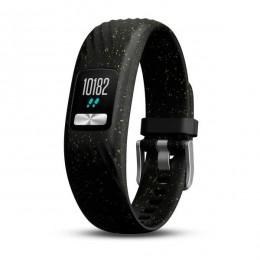 Трекер активности Garmin Vivofit 4 черный с блестками, стандартный размер