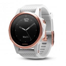 Часы Garmin Fenix 5S Sapphire, белые