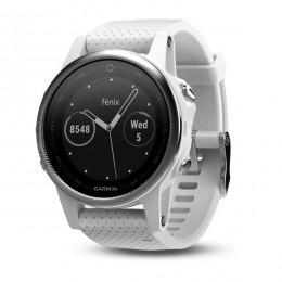 Часы Garmin Fenix 5S, белые
